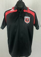 Adidas DC United MLS Polo Shirt Men's Size L Football Soccer Jersey