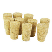 2X(20Pcs/Lot Natural Wood Corks Wine Stopper Wood Bottle Stopper Cone Type Wi BR