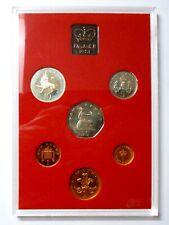 UK United Kingdom Proof coin set 1981 Decimal coins !