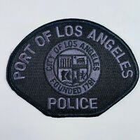 Port Police California CA Subdued Patch (B4)