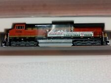 "FVM Fox Valley Models ES 44DC BNSF Christmas Train ""N"" scale Locomotive #7236"