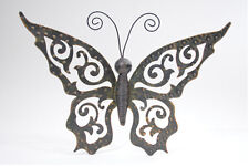 Metal Butterfly Wall Hanging Indoor Metal Art Home Decor & Accents