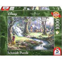 Disney's Snow White Thomas Kinkade 1000 Pieces Schmidt Timeless Jigsaw - SEALED