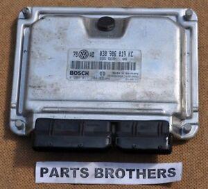 038 906 019 KC VW PASSAT B5 FL 1.9 TDI ENGINE CONTROL UNIT ECU 74 KW 038906019KC