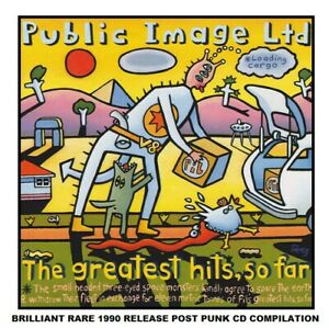 Public Image Ltd - P.I.L - Very Best Essential Greatest Hits Collection Punk CD
