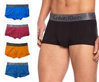 Calvin Klein Men's Boxer Trunk Zinc Low Rise Microfiber Metallic U2780 CK