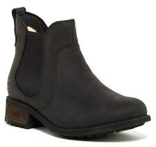 UGG Australia Bonham Black Water Resistant Leather Boot Size 5 New In Box $150
