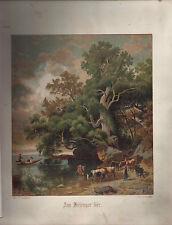 Originaldrucke (1800-1899) aus Nordrhein-Westfalen mit Landschaft-Motiv