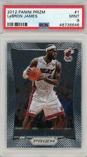 LeBron James Miami Heat 2012-13 Panini Prizm Basketball Card #1 PSA 9 MINT