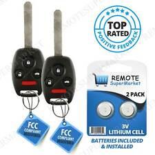 2 For N5F-S0084A Honda Civic EX SI 2006 2007 2008 2009 2010 2011 Remote Car Key