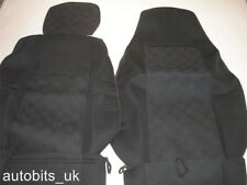 PREMIUM BLACK FABRIC SEAT COVERS TAILORED FOR SCANIA R P G SERIE NEW