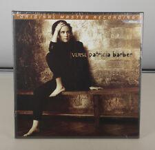 PATRICIA BARBER - VERSE - 180 GRAM MOBILE FIDELITY MFSL 45 RPM LP BOX SET SEALED