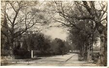 Dorridge Road - DORRIDGE - Solihull - Original Real Photo Postcard (ED230)