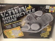 Haynes Build Your Own Working V-Twin Motorcycle Engine Model Haynes