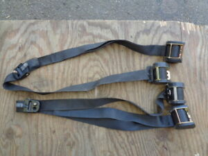 Volvo 740 760  Front Seat Belt Left and Right side dual real type  matched set