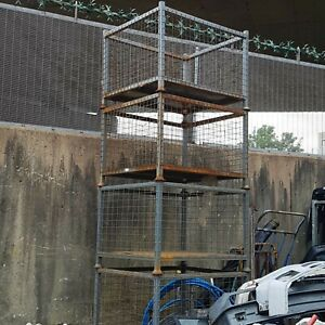Stackackable Metal stillage cages, 17 available