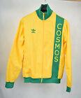 Adidas New York Cosmos Gold Green Track Soccer Jacket M Vintage Mens