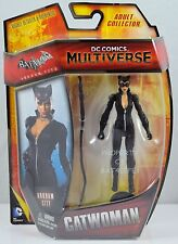 "DC COMICS 2015 MULTIVERSE 4"" ARKHAM CITY CATWOMAN 4"" Figure NEW FREE S/H!!!"