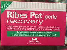 RIBES pet 60 Perle RECOVERY ACIDI GRASSI Protezione Cute Perdita Pelo Cane Gatto