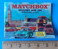 MATCHBOX COLLECTORS GUIDE 1966 INTERNATIONAL CATALOG US EDITION