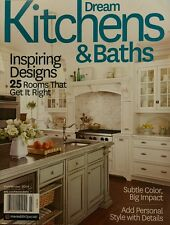 Dream Kitchens & Baths Inspiring Designs Fall Winter 2014 FREE PRIORITY SHIPPING