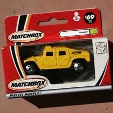 MATCHBOX HUMVEE  ©2000  •  Coffre ouvrble - Boot opens  •   Base Plast.  •  NEUF