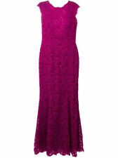 Dolce & Gabbana Fuchsia Lace Trumpet Gown Size:IT:44  Org$5,995.00 Gorgeous!!!