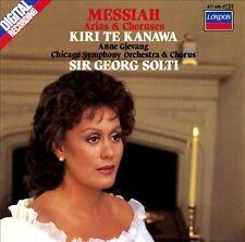 Handel - Messiah Arias & Choruses Sir Georg Solti, Chicago Symphony Orchestra &