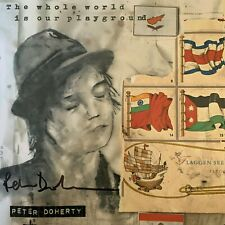 More details for pete doherty hand signed 12x12 photo - the libertines - babyshambles 1.