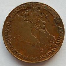 1939 Royal Visit to Canada Token Coin 26mm in diameter SB5260