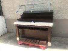 Used Bakery Display Rack with Sneeze Guard.