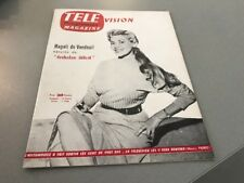 TÉLÉ MAGAZINE N° 42 (août 1956) : MAGALI DE VENDEUIL