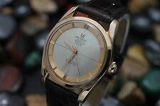 Vintage UNIVERSAL GENEVE Polerouter De Luxe Automatic Microtor 18K Rose Gold