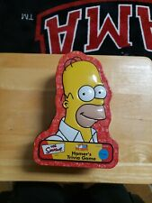 The Simpsons: Homer's Trivia Game in Collectible Tin 2001