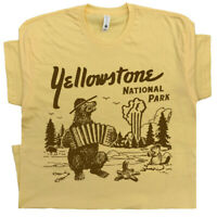 Yellowstone T Shirt Funny T Shirt National Park Wyoming Jackson Hole Mens Womens