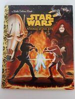 Little Golden Book Star Wars Revenge of the Sith