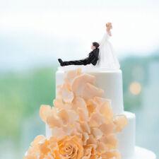 Wedding Bride Groom Resin Figurine Cake Topper