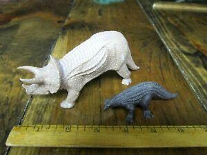 Invicta dinosaurs, original Triceratops and Scelidosaurus