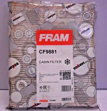 FILTER INNENRAUM INNENRAUMLUFTFILTER POLLENFILTER FRAM CF9881 VW AUDI PORSCHE