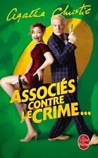 Agatha CHRISTIE (32 milliards de livres vendus)*RARE**ASSOCIES contre le CRIME**