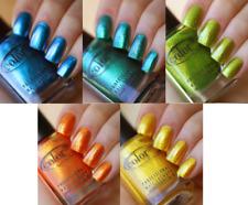 Color Club TAKE WING Duochrome Pro Nail Polish 5 COLORS Yellow Orange Blue Green
