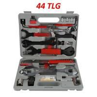 44 tlg. Fahrrad Werkzeugsatz Reparatur Service Rad Werkzeugkoffer Set Radsport