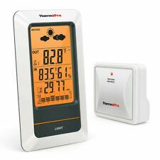 ThermoPro Tp67A Rechargeable Indoor Outdoor Thermometer Wireless Weather Station