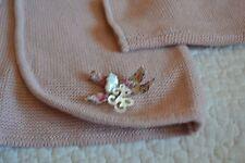 veste tartine et chocolat neuve avec liberty 4 ans superbe rose boutons liberty
