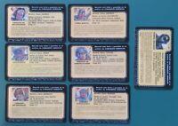 GIJOE ARGEN7 custom file cards lot Cobra Mortal Glenda Topson Manleh Shimik