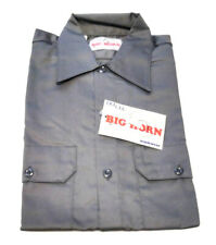 Vintage Dee Cee Chambray Work Shirt Permanent Press Size Small Short Sleeve NOS