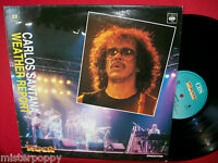 CARLOS SANTANA + WEATHER REPORT rare Promo only LP ITALY Unique Cover MINT >