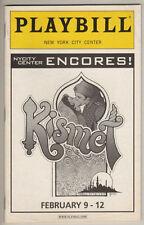 "Encores! Playbill ""Kismet"" 2006  Brian Stokes Mitchell & Marin Mazzie"