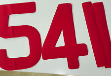 Sail Numbers & Letters All Sizes 1st CLASS POST by Lulham-Robinson 8 colours