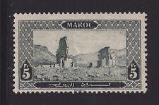 COLONIES FRANCAISES MAROC N°  78 * MLH neuf avec charnière, TB, cote: 48.50 €